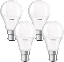 OSRAM LED Base Classic A / LED-lamp in Bulb Shape with B22d-base / not dimmable / Replacement for 8.5 Watt / Matt / Warm W...