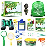 Kids Outdoor Adventure Pack - 22 pcs Outdoor Explorer Kit for Kids - Nature Exploration Set