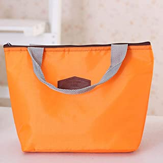 Elenxs Insulated Tote Waterproof Lunch Bag Cooler Thermal Picnic Food Drink Holder