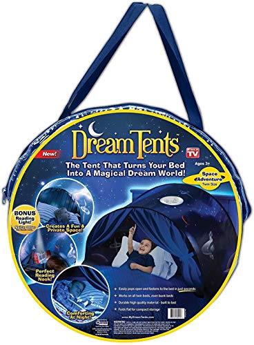 DreamTents Fun Pop Up Tent- Space Adventure- Twin Size