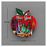 Fioerwe Kühlschrankmagnete New Yorker Freiheitsstatue Atlantic City Times Square New...