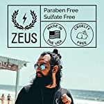 ZEUS Beard Shampoo, Beard Conditioner, and Beard Oil Sampler Set - SANDALWOOD 6