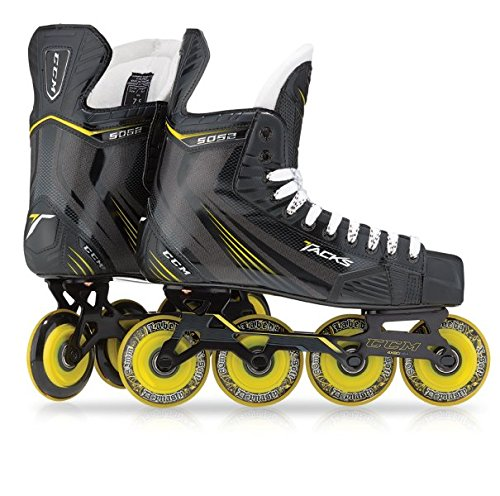 CCM Tacks 5R52 Roller Hockey Skates Sr, Weite :D, Größe:7 = 41