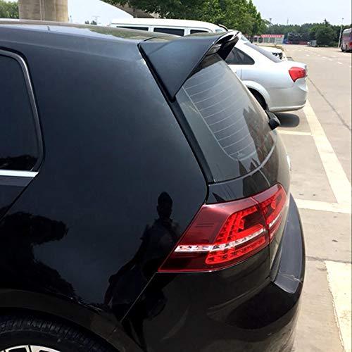 LSYBB ABS Auto Heckspoiler Flügelfensterlippe für VW Volkswagen Golf 7 2014-2018 MK7 7/7.5 GTI R,Black-MK7/7.5standard