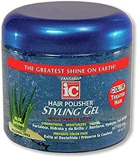 Fantasia Polisher Gel Color Treated Hair, 16 Ounce