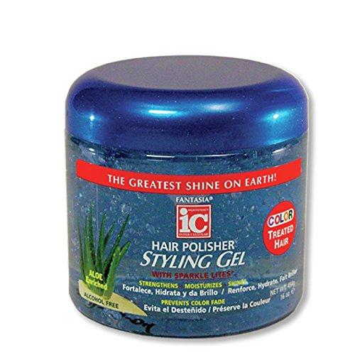 Fantasia IC Gel de Coiffage Brillance pour Cheveux Colorés 473 ml
