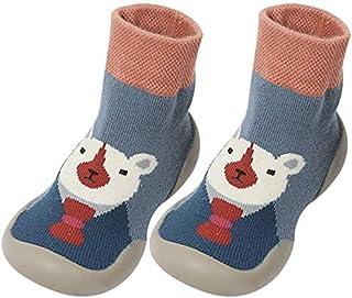 BOLANA, BOLANA - Calcetines antideslizantes con suela de goma para el suelo para bebés