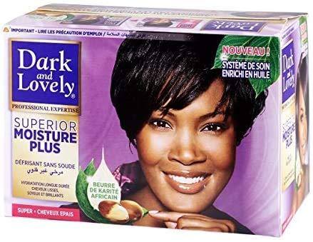 Dark and lovely hair relaxer superior moisture plus
