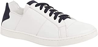 Parx Solid Synthetic White Shoes