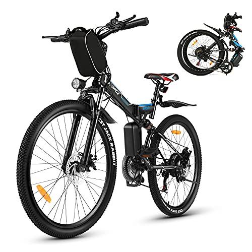 Vivi Bicicletta elettrica da uomo e da donna, 26 pollici,...