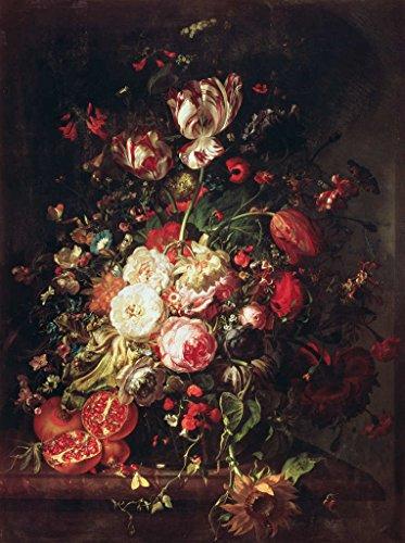 Kunst für Alle Impresión artística/Póster: Rachel Ruysch Flowers and Fruit - Impresión, Foto,...