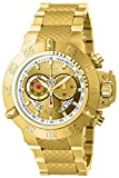 Invicta Men's Subaqua Noma III 50mm Gold Tone Stainless Steel Chronograph Quartz Watch, Gold (Model: 5403)