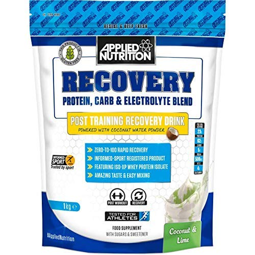 Recovery Regeneration Post-Workout Water Powder, Coconut & Lime