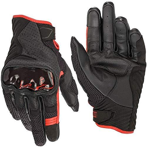 Alpine Motocross Stars Rennhandschuhe Belüftete Leder Moto Handschuhe Drop Resistance Touchscreen Handschuhe- 93, L.