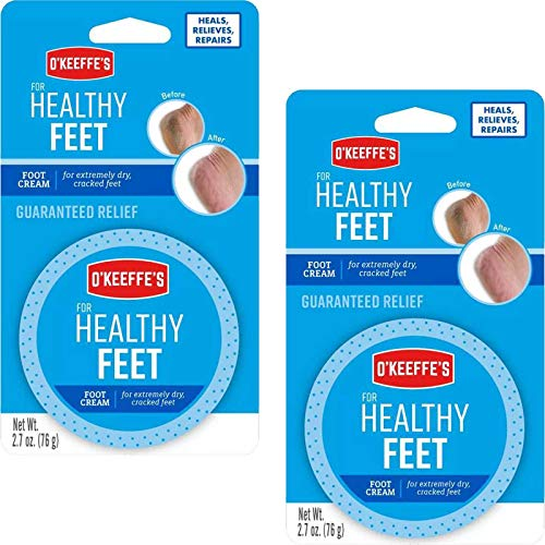 O'Keeffe's For Healthy Feet Daily Foot Cream, 2.7 oz (Pack of 2) by Gorilla Glue Company