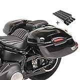Seitenkoffer Craftride Delaware (Paar) je 33l + Haltesatz Kawasaki VN 1500/ Classic/Mean Streak, VN 1600 Classic/Mean Streak, VN 1700 Classic, VN 2000/ Classic, VN 800/ Classic