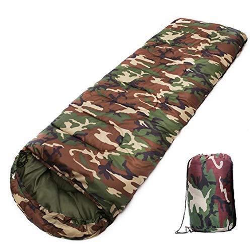 Midsy Premium - Saco de Dormir Tipo Momia, Saco de Dormir Ligero con Estampado de Camuflaje, Resistente al Agua, cálido, Ideal para Actividades al Aire Libre, Saco de Dormir portátil, para Estaciones