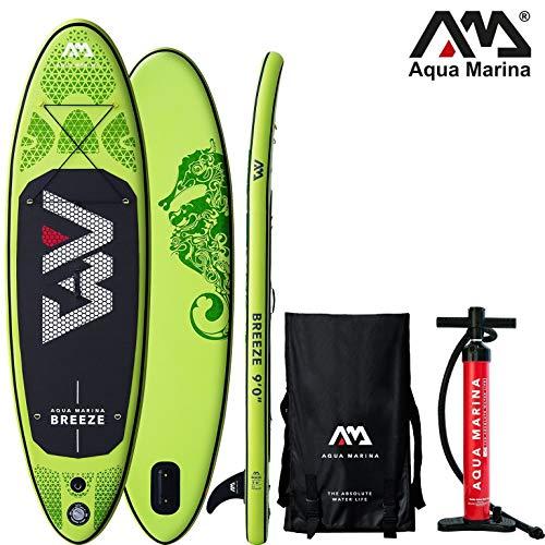 Aqua Marina Breeze 2019 SUP Board Inflatable Stand Up Paddle Surfboard Paddel