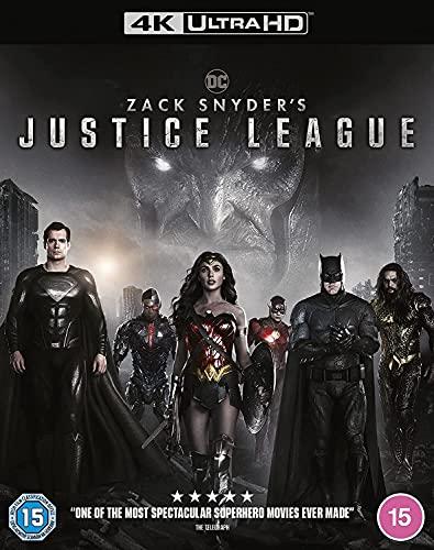 Zack Snyder's Justice League [4K Ultra HD] [2021] [Region Free] [Blu-ray]