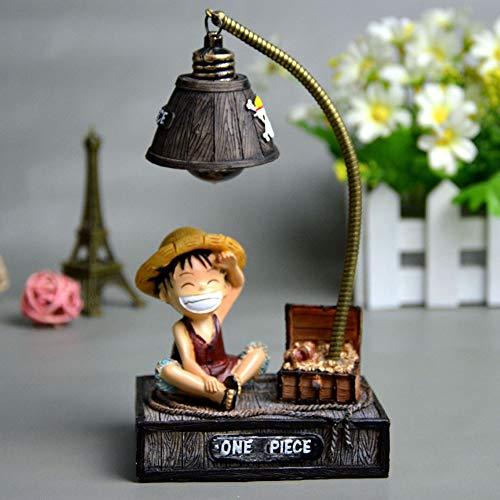 Haushele OFD Kinder Nachtlicht Puppe Led Anime D Luffy Tony Chopper Resin Action Figure Spielzeug( H01)