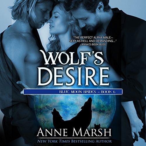 Wolf's Desire audiobook cover art