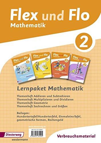 Flex und Flo 2 - Lernpaket Mathematik: Ausgabe 2014