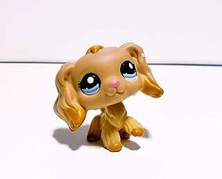 PETDog Action Figures Pet #1716 Cocker Dog Blue Eyes Caramel Flower Ears Puppy Toys