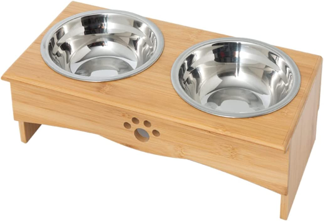Skython Elevated Dog Bowls for Small to Medium Sized Dog, Dog Food Bowls with Stand, Raised Dog Bowl, Dog Dishes Elevated, Pet Bowls with Stand