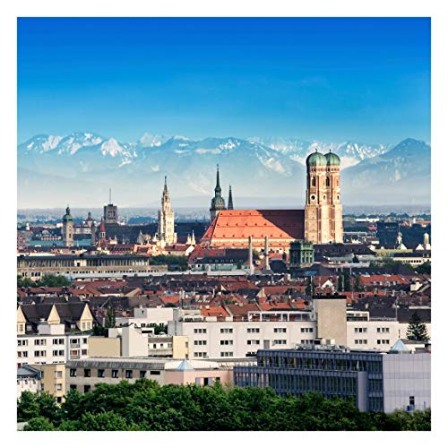 Tapete selbstklebend - München - Fototapete Quadrat 240 x 240 cm