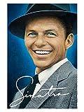 Frank Sinatra Painting Art Portrait Singer Music 32x24 Print Poster