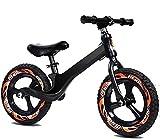 Bicicleta de equilibrio para niños de 3 a 6 años con asiento ajustable, muy adecuado para juegos competitivos