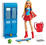 DC Super Hero Mattel Girls Supergirl Locker Accessory & Doll