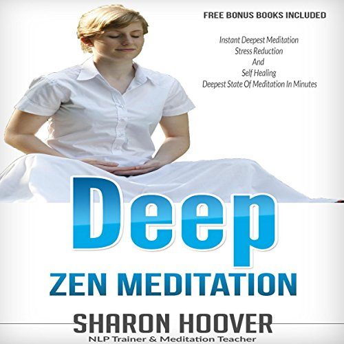 Deep Zen Meditation audiobook cover art