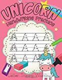 Unicorn Handwriting Practice: Alphabet Handwriting Practice and Coloring Book for Kids Ages 3 and...
