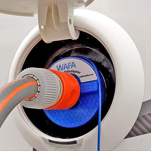 Tapa del tanque de agua, WAFA, adaptador de llenado de agua, equipo de scooters de autocaravanas, Benimar, Roller-Team, Hymer, Mobilvetta, Challenger, Forster