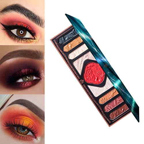 JTLB Palette Carving Chinesischer Stil Pigmentiert Bunt Langlebig Wasserdicht Make-up-Palette Kosmetik Lidschatten-Pulver