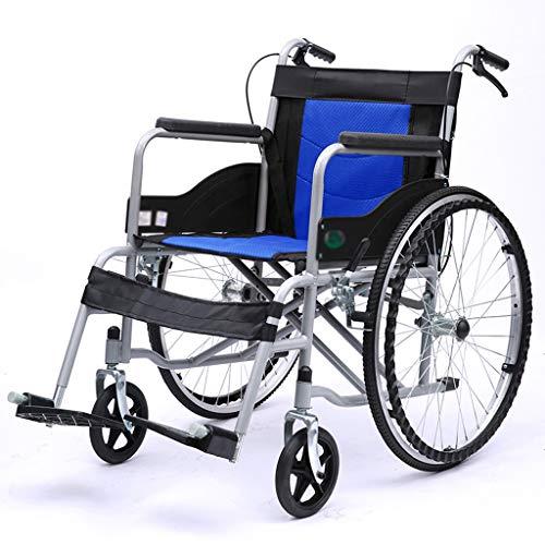 LBYMYB Carrozzina Leggera Pieghevole Multifunzione Portatile Ultraleggera Leggera Creativa Sedia a rotelle