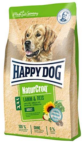 Happy Dog Premium - NaturCroq Lamm & Reis, 15 kg