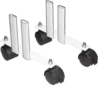 Pies con ruedas para AeroFlow calefacción eléctrica altura 610 mm y 325 mm