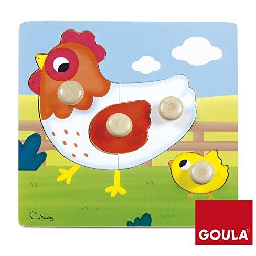 Puzzles  gallina madera