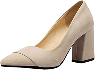 Smilice Women Court Shoes with High Heel