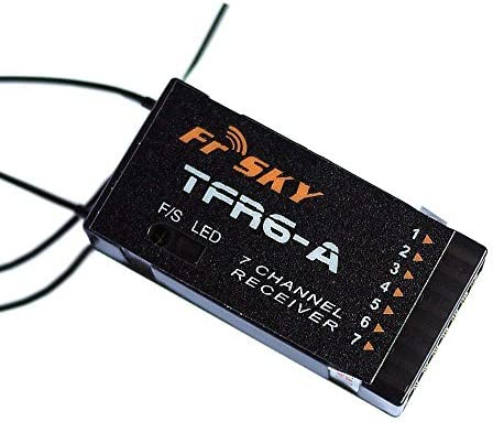 FrSky 2.4ghz 7-Channel Fort Worth Mall Receiver TFR6A Futaba Compatible FAS Max 70% OFF with