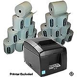 EpoSBITS - Rotoli per stampante per ricevute Star TSP654II TSP-654II TSP654 II, 20 rotoli