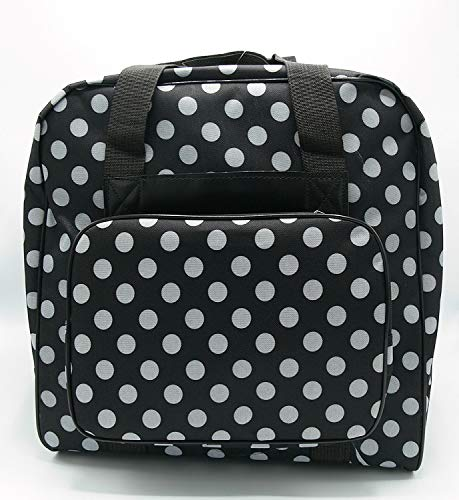 BabySnap Overlocktasche XL Dotty schwarz