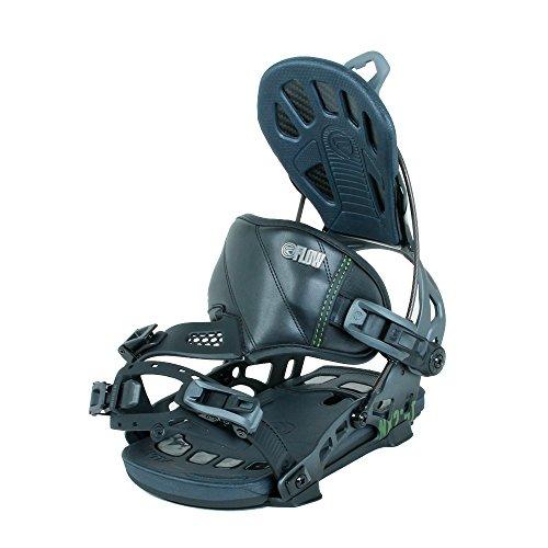 Flow NX2-GT Hybrid Snowboard Bindings Mens Black L