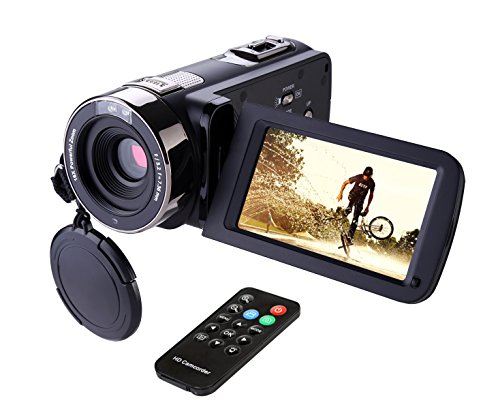 HAUSBELL Camcorder (Black)