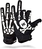 HK Army Bones Paintball Gloves (Large, White)