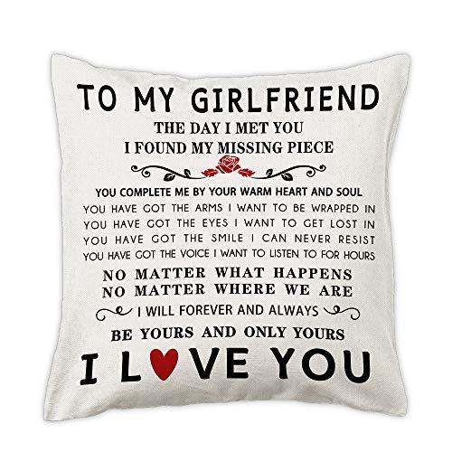 pinata Gift Idea for Girlfriend Pillow Cover 18x18'' Anniversary,...