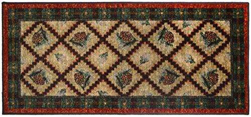 pine cone kitchen rugs - 2
