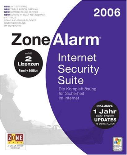 ZoneAlarm Internet Security Suite 2006 Family Edition (2 Lizenzen)